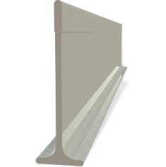 PLETINA PVC X 2.4 MTS